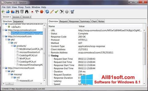 স্ক্রিনশট Charles Windows 8.1
