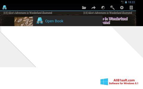 স্ক্রিনশট AlReader Windows 8.1