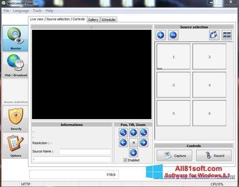 স্ক্রিনশট webcamXP Windows 8.1