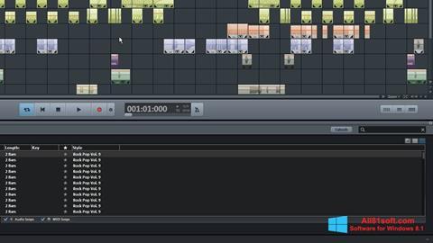 স্ক্রিনশট MAGIX Music Maker Windows 8.1