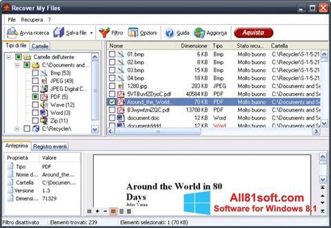 স্ক্রিনশট Recover My Files Windows 8.1