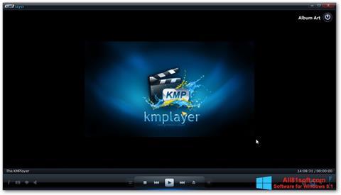 স্ক্রিনশট KMPlayer Windows 8.1