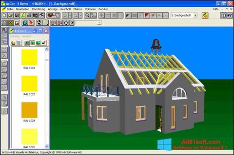 স্ক্রিনশট Arcon Windows 8.1