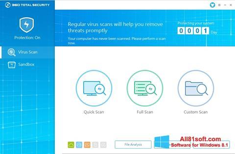 স্ক্রিনশট 360 Total Security Windows 8.1