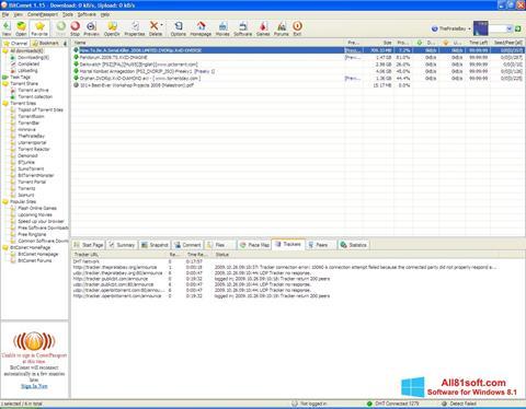 স্ক্রিনশট BitComet Windows 8.1