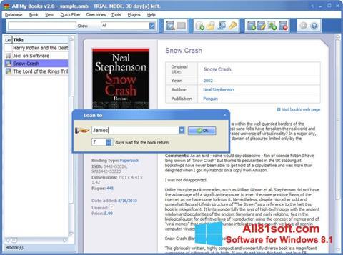 স্ক্রিনশট All My Books Windows 8.1