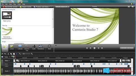 স্ক্রিনশট Camtasia Studio Windows 8.1