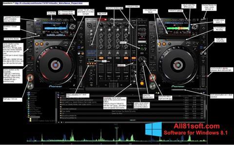 স্ক্রিনশট Virtual DJ Windows 8.1
