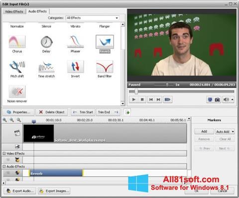 স্ক্রিনশট AVS Video Converter Windows 8.1