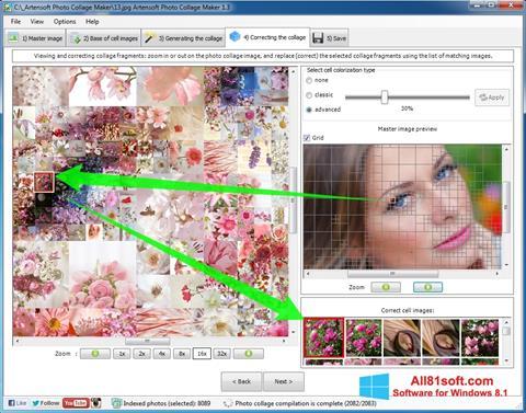 স্ক্রিনশট Photo Collage Maker Windows 8.1