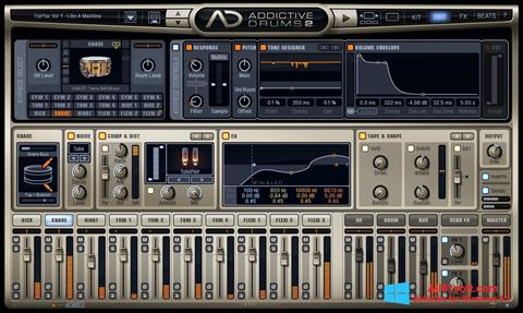 স্ক্রিনশট Addictive Drums Windows 8.1