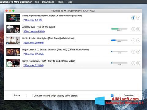 স্ক্রিনশট Free YouTube to MP3 Converter Windows 8.1