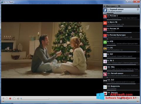 স্ক্রিনশট IP-TV Player Windows 8.1