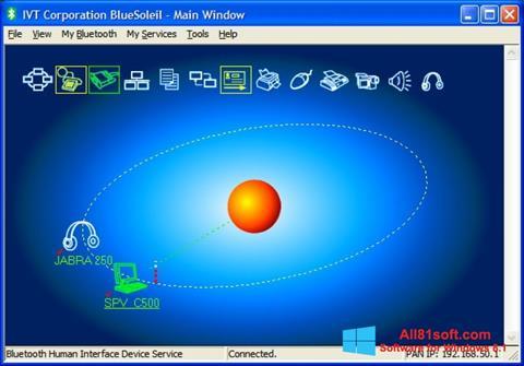 স্ক্রিনশট BlueSoleil Windows 8.1