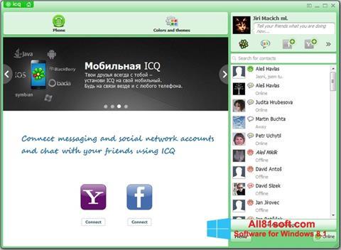 স্ক্রিনশট ICQ Windows 8.1
