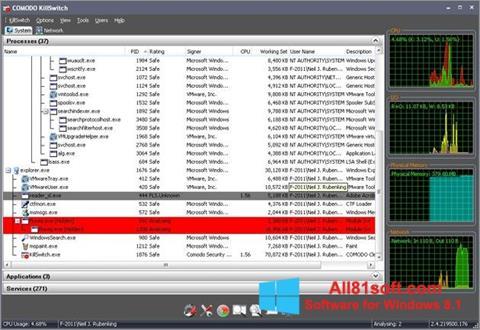 স্ক্রিনশট Comodo Cleaning Essentials Windows 8.1