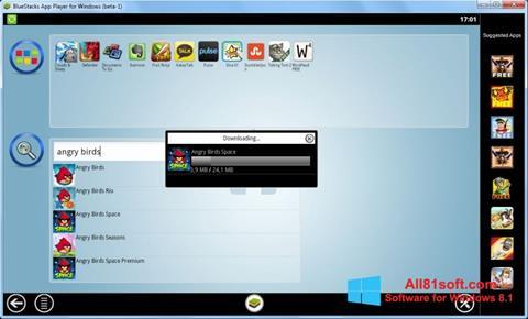 স্ক্রিনশট BlueStacks Windows 8.1