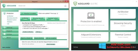 স্ক্রিনশট Adguard Windows 8.1