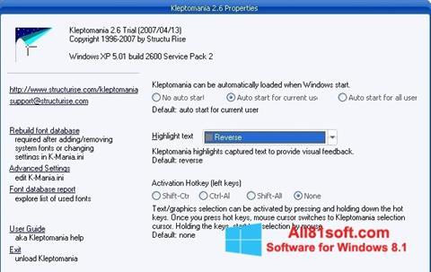 স্ক্রিনশট Kleptomania Windows 8.1
