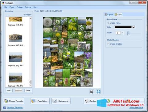 স্ক্রিনশট CollageIt Windows 8.1