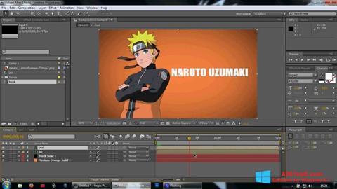 স্ক্রিনশট Adobe After Effects Windows 8.1
