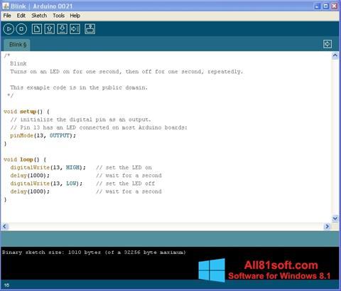 স্ক্রিনশট Arduino Windows 8.1
