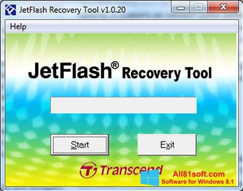 স্ক্রিনশট JetFlash Recovery Tool Windows 8.1