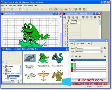 স্ক্রিনশট Toon Boom Studio Windows 8.1