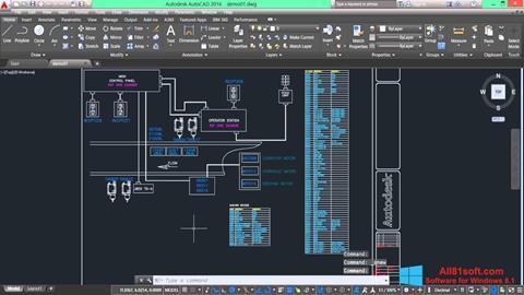 স্ক্রিনশট AutoCAD Electrical Windows 8.1