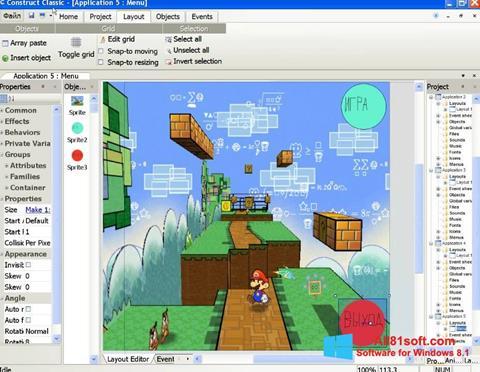 স্ক্রিনশট Construct Classic Windows 8.1