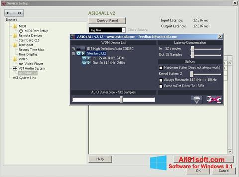 স্ক্রিনশট ASIO4ALL Windows 8.1