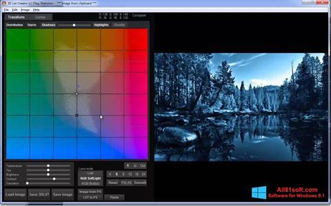 স্ক্রিনশট 3D LUT Creator Windows 8.1