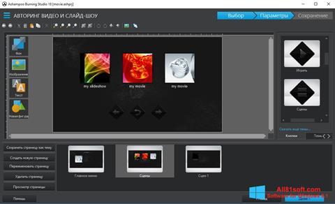 স্ক্রিনশট Ashampoo Burning Studio Windows 8.1