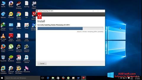 স্ক্রিনশট Adobe Photoshop CC Windows 8.1