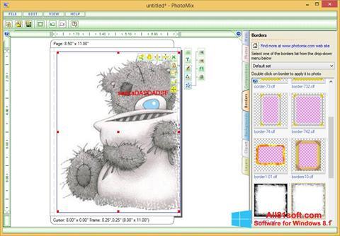 স্ক্রিনশট PhotoMix Collage Windows 8.1